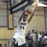 Greece Athena sophomore forward Anthony Lamb.