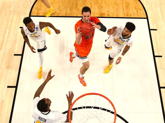 Zach Thomas and Bucknell also played in the NCAA Tournament in 2017.
