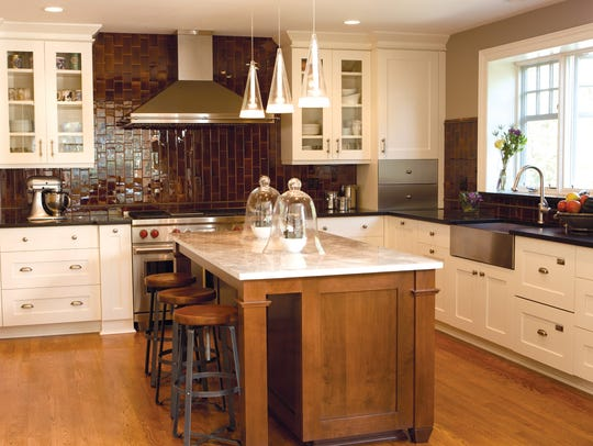 The kitchen redesigned by Blanche Garcia