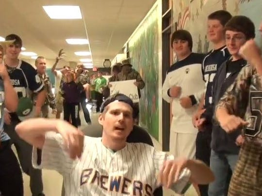 Nekoosa High School students and staff  made a lip-sync video to demonstrate school pride