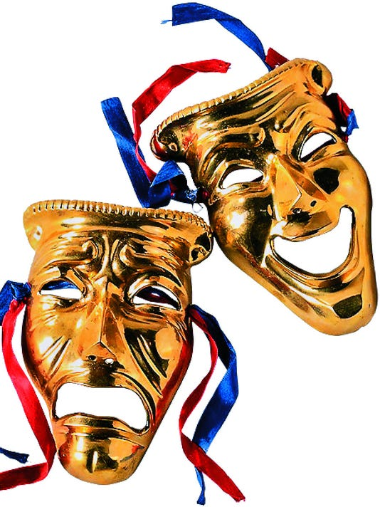 Drama and Comedy Masks