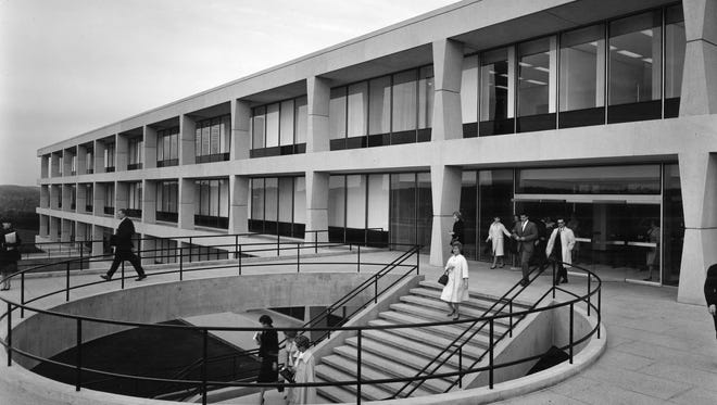 IBM Corp. offices in North Castle in 1964.