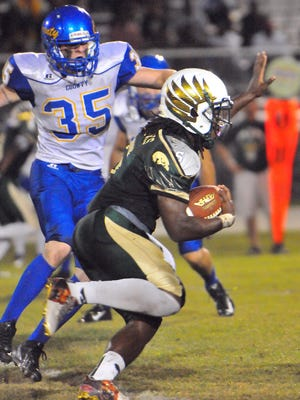 Trevor Merritt was voted FLORIDA TODAY's Athlete of the Week for the week of Nov. 16-22.