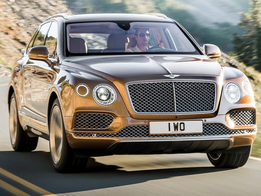 Bentley prices Bentayga SUV way above $200K