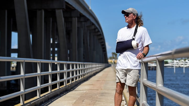 Mycobacterium marinum bacteria infects Stuart sailor's hand, likely from St. Lucie River