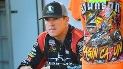 Jason Johnson, World of Outlaws, Angell Park Speedway,