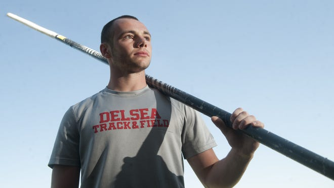 Delsea's Jarrod Brovero is the boy's track and field performer of the year.