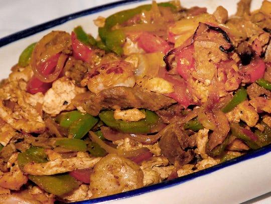 March 6, 2018 - A fajita dish at the Recipe for Unity