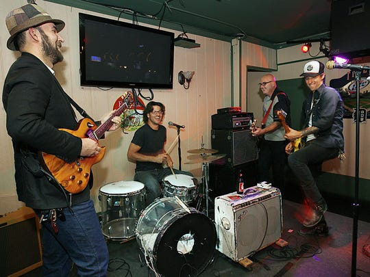The Orbitsuns take the stage Friday at Sabby's Lounge for a CD release show.