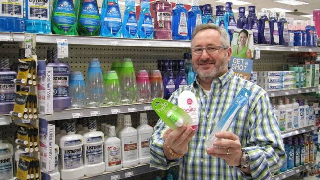 Craig Dubitsky, founder of Hello Products, is bringing fresh designs and flavors to the oral hygiene supplies aisle.