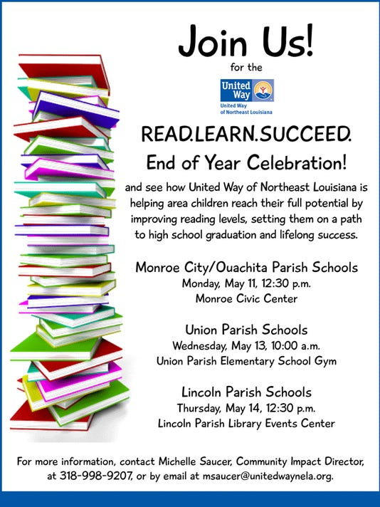 How to end an invitation email invitationswedd united way program will celebrate reading end of school year stopboris Images