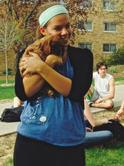 'Furry Friends for Finals' helped students de-stress with cute puppies.