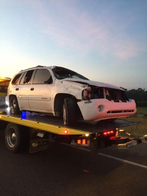 The Mississippi Highway Patrol said the driver of an SUV was not wearing a seatbelt in a fatal accident on I-20 near the Bolton thursday.