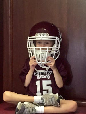 Mississippi State fan Campbell Dale died Friday after a battle with cancer.