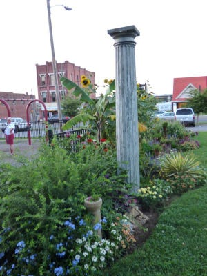 Todd Breyer's volunteer efforts include landscaping projects at Richland Park.