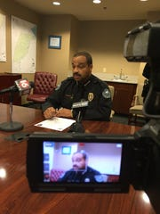 Jackson Police Chief Lee Vance expresses his anger