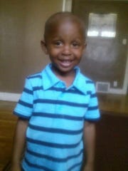 Xavier Strickland,4, was mauled by four pit bulls.
