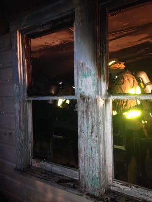 Firefighters responded to an early morning house fire on Vine Street in West Melbourne. No injuries were reported.