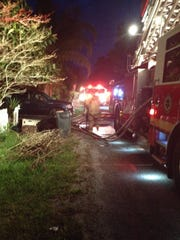 Firefighters responded to an early morning house fire