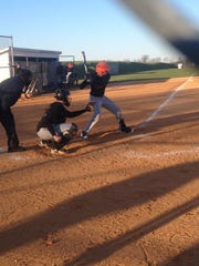 York Suburban first baseman Collin Slenker went 3-of-4 with a double and five RBIs in Tuesday's 13-8 loss to Biglerville.