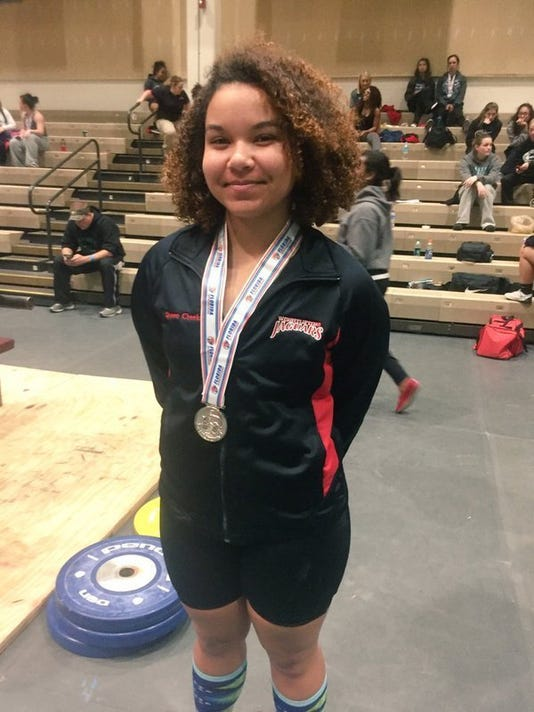 Girls Weightlifting State Championships Port St Lucies Gatling