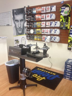 The Drop Shot Tennis Shop opened Sept. 3 and is located on Del Prado Blvd. in Cape Coral.