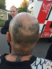 Eric Avila, of Woodburn, was arrested for entering a Keizer residence and shaving his head on Tuesday, Sept. 27, 2016.