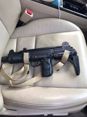 Martin County Sheriff's Office investigators seized an Uzi gun during a SWAT team raid Friday, Nov. 2, 2016, at a home in the  3000 block of Southeast Indian Street in Stuart.