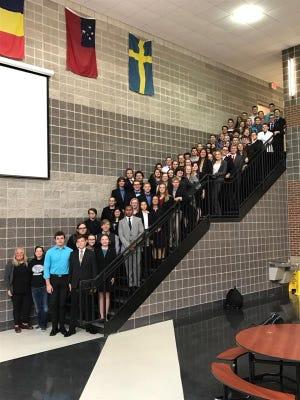 The Willard High School Speech & Debate team ranked in the top 2 percent of speech and debate teams in the United States.