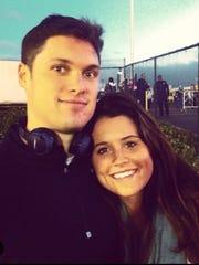 Chris Hogan and his sister Erinn Hogan.