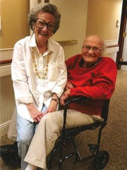 George Shuman and his wife, Marcia, met on a blind
