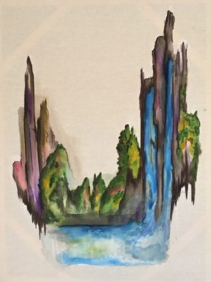 Works by Heather Huebner will be exhibited at the Emporium Center starting with First Friday in May.