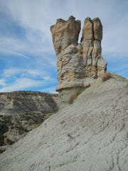 State officials are seeking public comment on a proposal to name this rock formation near Cedar Hill Molar Rock.