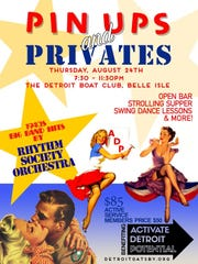 Pin-Ups and Privates will re-create the spirit of a 1940s USO dance.