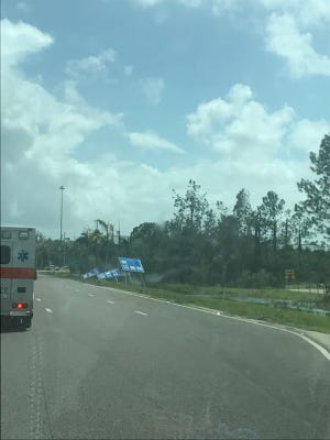 A double paramedic crew from Sumner County EMS traveled with other crews from around the state to Florida Friday.