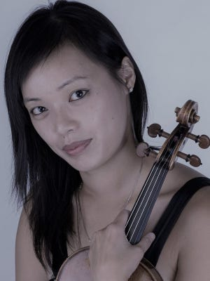 Jessica Tong, ChamberFest artistic director and violinist, also is co-founder and artistic producer of the nonprofit group, Music Beyond the Chamber.