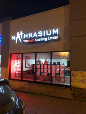 A math-only learning center is open in Wauwatosa.