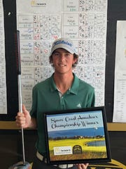 he A flight champion, Jack Sutter, in the Space Coast Amateur.
