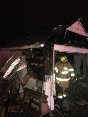 Fond du Lac Fire/Rescue responded to reports of a fire in a garage in the 200 block of Maple Avenue Monday night. The garage was substantially damaged.