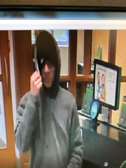 Town of Poughkeepsie police released images of a suspect