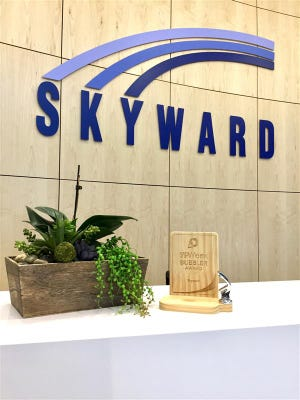 Skyward received a Bubbler Award two years in a row as a top ten place to work for young professionals.