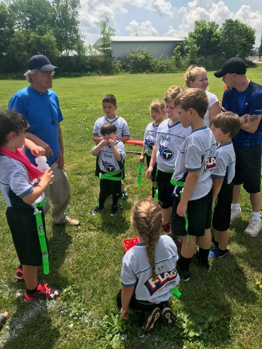 7fa214b29 Cheatham County Youth Flag Football league kicks off, hosts fundraiser