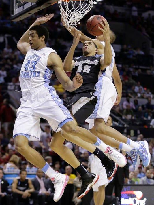 NCAA Providence North Carolina Basketball