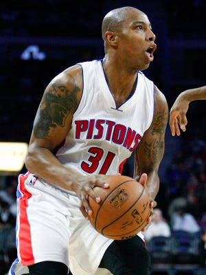 Pistons forward Caron Butler