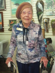 Florence Sansom is one of the artists who exhibited at the Cape Coral Art League art fairs.