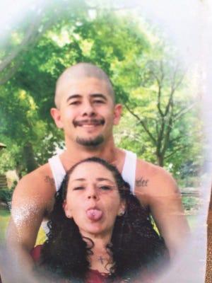 Thomas Martinez Jr. is shown with his wife, Sonja Lassy Martinez.