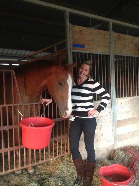 Bynog and horse