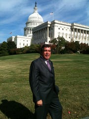 Agua Caliente chairman Richard Milanovich at the US Capitol Building in Washington.