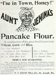 This ad for Aunt Jemima's Pancake Flour was published Nov. 10, 1894, in Seattle.