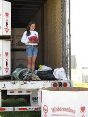 Emma Rider has collected more than 70,000 shoes to help WaterStep, a nonprofit that collects shoes to either give to Kenyans, sell to raise money or recycle to help install water purification systems in Kenya.